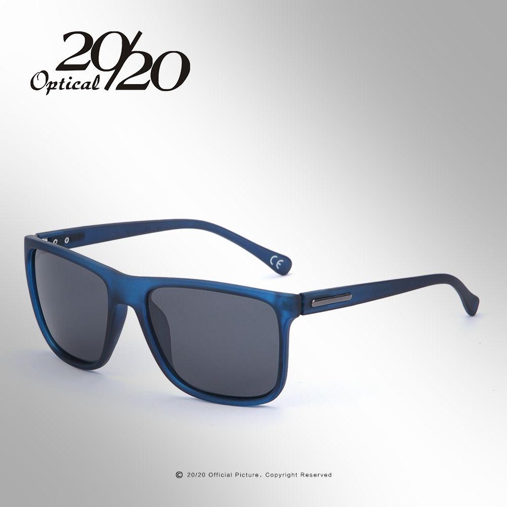 20/20 marque lunettes de soleil polarisées hommes UV400 classique mâle carré lunettes conduite voyage lunettes Gafas Oculos PL243