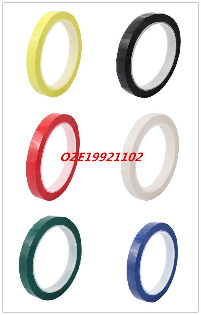 1PCS 12mm Single Sided Strong Self Adhesive Mylar Tape 50M Length Logo Tape