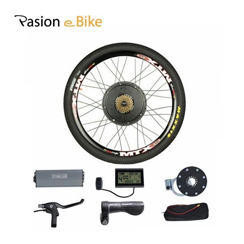 PASION E FAHRRAD 48 V 1500 Watt Motor Elektrische Fahrrad Umbausatz für 26