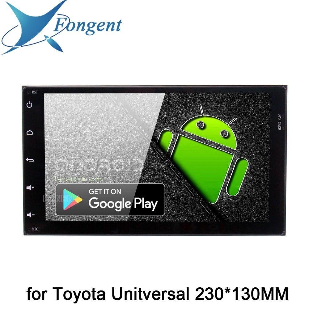 Android 9.0 Auto Radio 2 Din GPS Navi für Toyota Corolla Auris Fortuner Auris innova 2017 2018 PX6 DSP IPS 4 gb + 64 Gb RDS WIFI BT