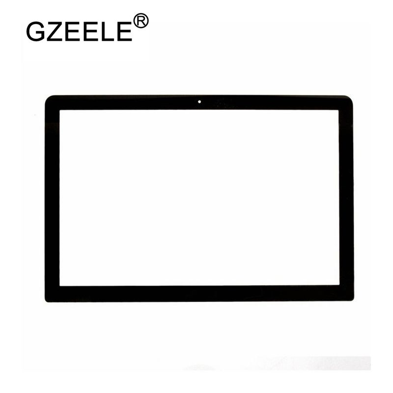 GZEELE For MacBook Pro A1278 Front LCD Screen Glass 13'' Front LCD A1278 Glass Cover Sheet 2009-2012 Year MB466 MC724 BEZEL CASE
