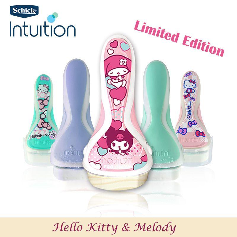 HOT Original Schick Intuition rasoir édition limitée dame rasoir sûr et propre meilleure protection épilateur manuel femmes en stock