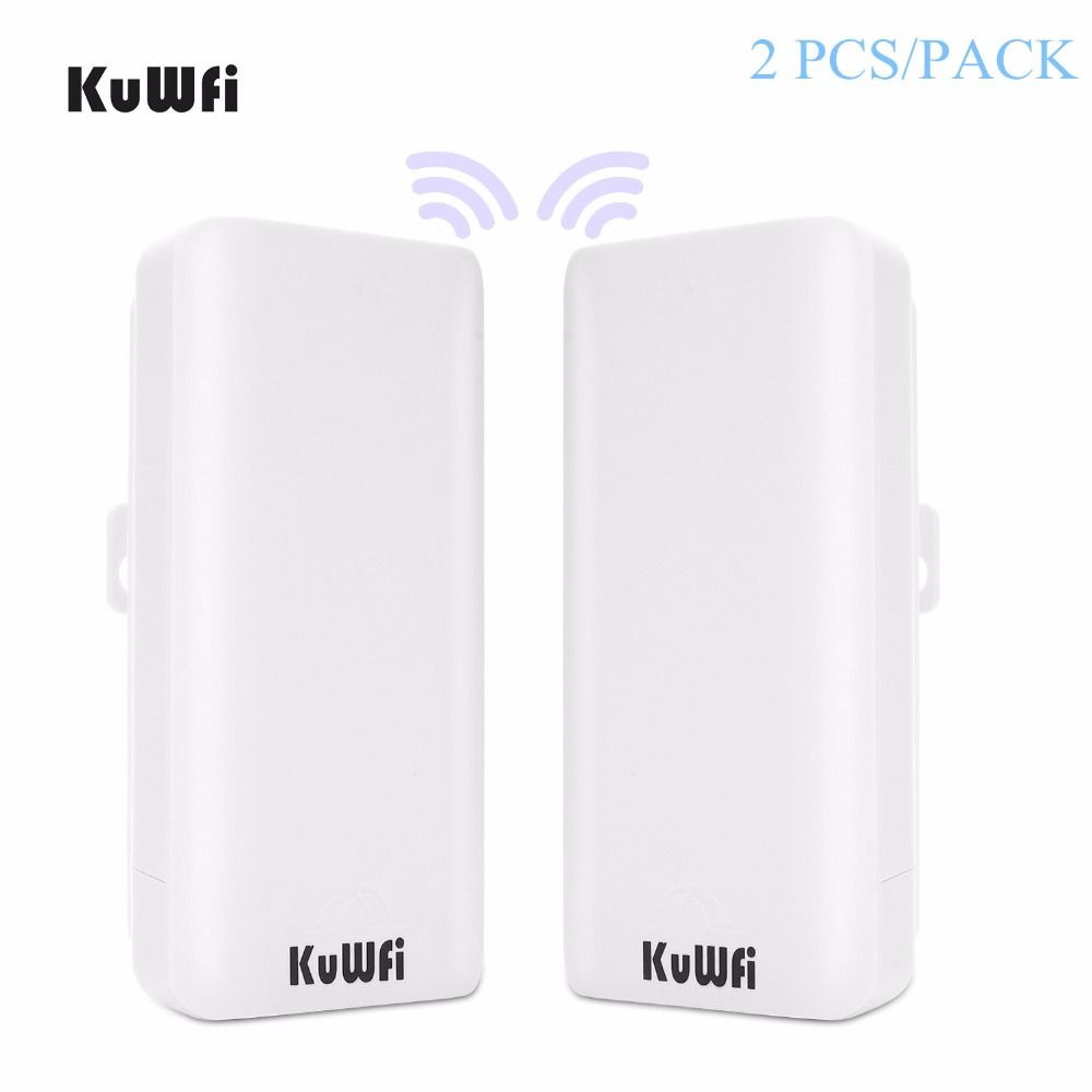 2PCS 300Mbps High Power Outdoor CPE Router 2KM WiFi Bridge Access Point AP Router Wifi Repeater Extender With WDS Function