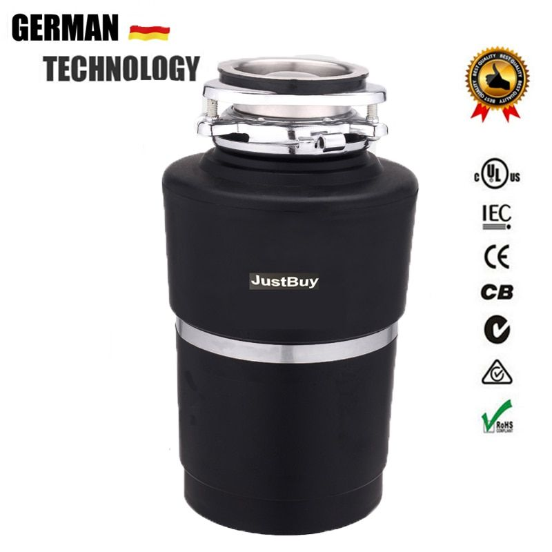 8KG Food Garbage Disposal Crusher waste disposers Stainless steel Grinder kitchen appliances Germany technology AC Motor kitchen