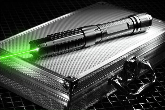 Strongest Powerful green laser pointers 2000000m 532nm Lazer Flashlight Burning Match/dry wood/black/cigarettes+5 caps+Glasses
