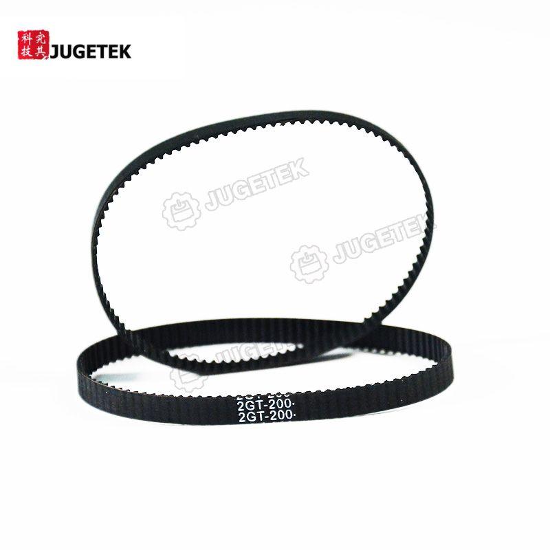 GT2 Timing Belt Closed-loop Endless 6mm width 200mm length 100 teeth Good quality 3D printer parts 200-2GT-6