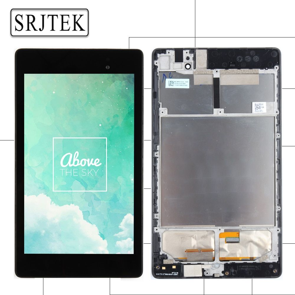 For ASUS Google Nexus 7 2nd 2013 FHD ME571 ME571K ME571KL K008 K009 LCD Display Touch Screen Panel Digitizer Assembly with Frame