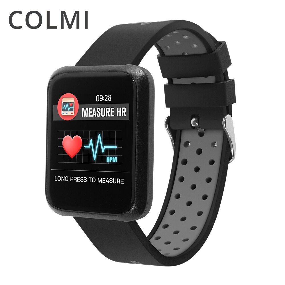 COLMI Smart Watch Bluetooth Pedometer Heart Rate Blood Oxygen Pressure Call reminder Wrist Smartwatch For Android IOS Phone