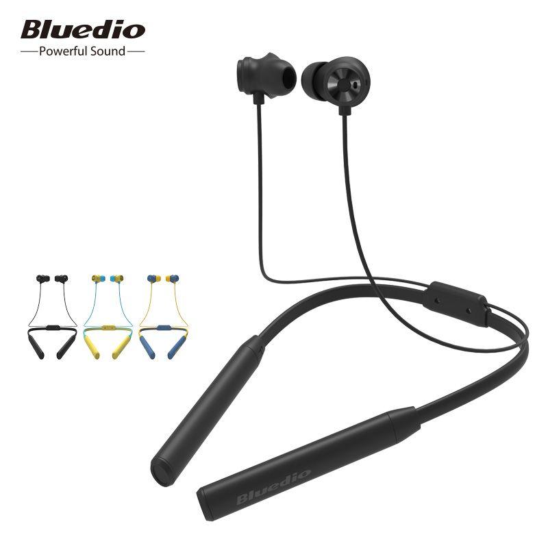 Bluedio TN2 Sports Bluetooth écouteur avec suppression de bruit active/casque sans fil pour téléphones et musique
