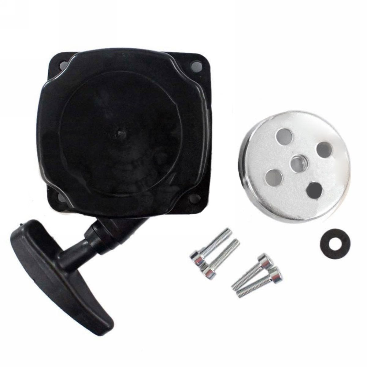 New Universal Recoil Pull Starter Assembly Lawn Mower Parts Spares for Lawnmower Brush Cutter Strimmer Garden Tools