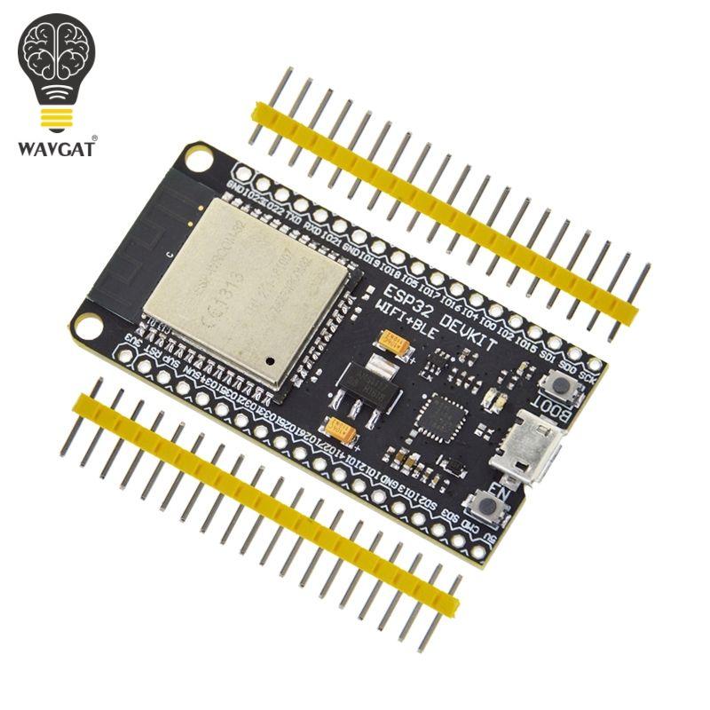 Carte de développement WAVGAT ESP32 WiFi + Bluetooth Ultra-faible consommation d'énergie ESP-32 double coeur ESP-32S ESP 32 similaire ESP8266