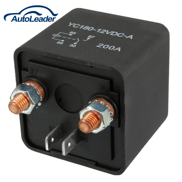 New 12V 200A Car Automotive Split Charge ON/OFF Switch Relays Car Auto Boat 200Amp