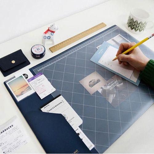 2017 2018 Calendrier Corée Kawaii Bonbons Couleur Bureau De Bureau Tapis de Table Multifonction Hebdomadaire Planificateur Organisateur Titulaire Fournitures De Bureau