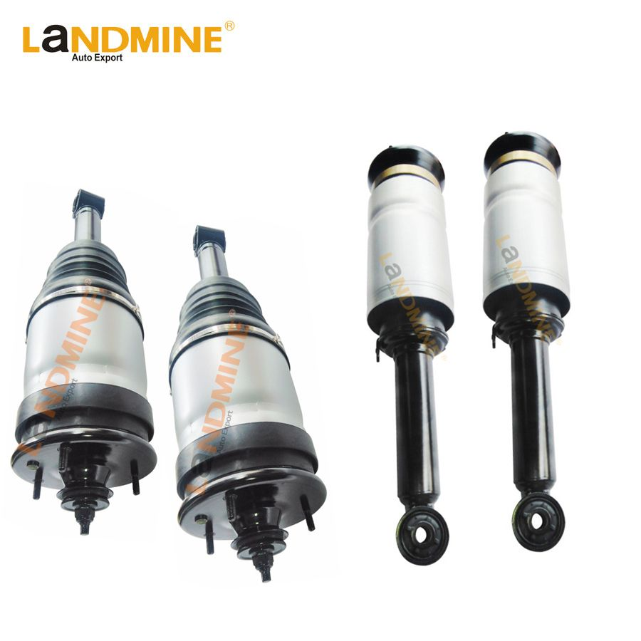 Free Shipping 4pcs Rear Suspension Air Spring Front Air Ride Strut Assembly For Land Rover Discovery 3 RTD501090 RTD501080