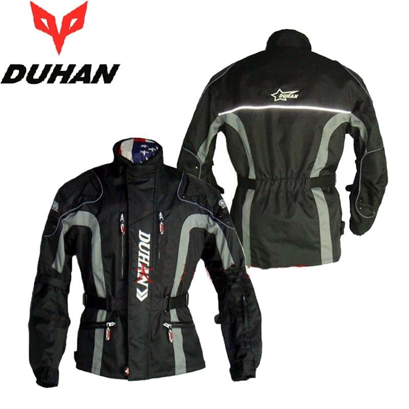 DUHAN motor Racing Motorcycle riding suit jacket Off-road motorbike jackets Autumn winter clothe coat Wind thicker windproof