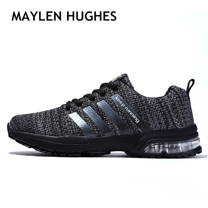 2018 Men Sport Light Running Shoes Men Air Sneakers Breathable Mesh Outdoor walking athletic Shoe Male Shoe Big Plus Size 36-47