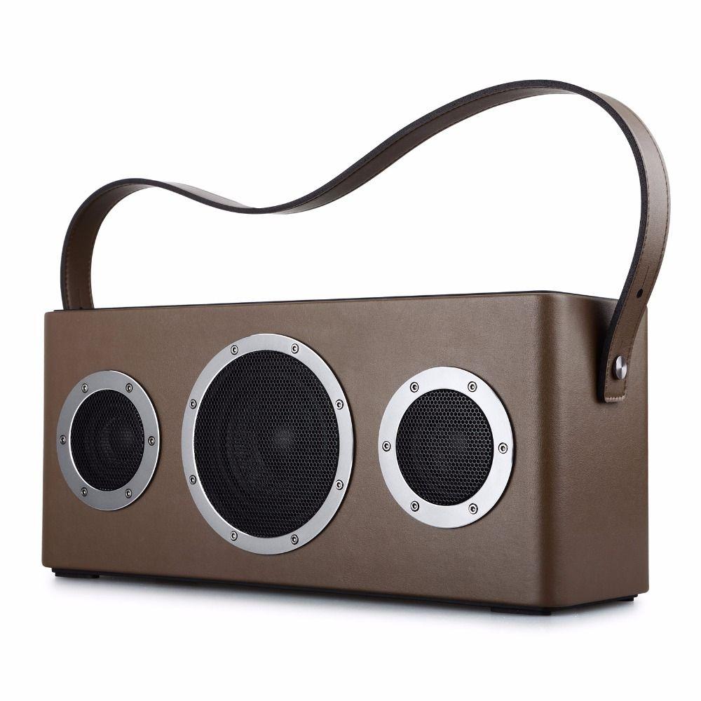 GGMM M4 Bluetooth Speaker Portable Speaker Wireless WiFi Speaker Audio HiFi HiFi Stereo Sound with Bass for iOS Android Windows