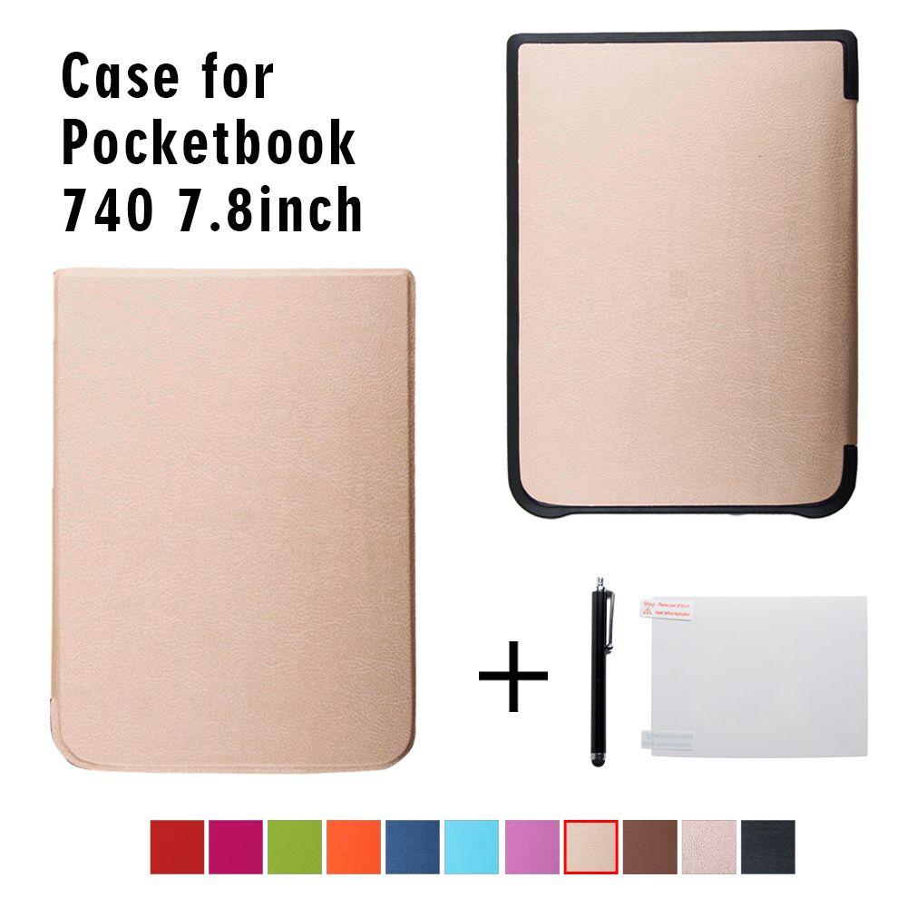 Ultra Slim Case for PocketBook 740 InkPad 3 ereader 7.8 inch <font><b>ebook</b></font> Stand Cover+gift