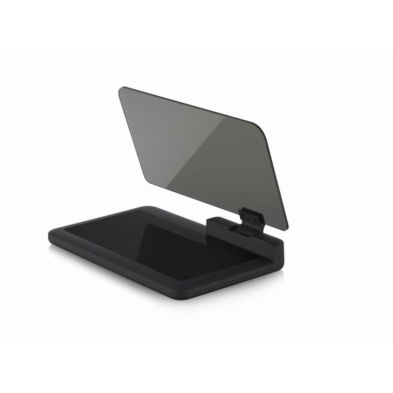 GEYIREN H6 HUD Smartphone Holder - GPS Navigator Car Head Up Display Projector - with Reflection Film Glass Board Projector