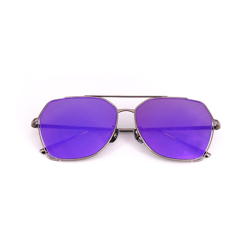 Hot <font><b>Selling</b></font> Square Sungalsses Brand Designer High Quality Stainless Steel Frame Oculos De Sol Feminino Fishing,Outdoor AQ335-340