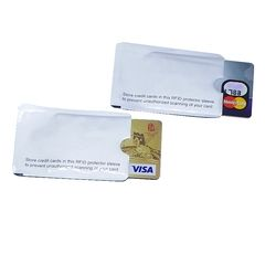RFID экранированный рукав карта блокировка 13,56 мГц IC карта защита NFC карта безопасности предотвращает неавторизованное сканирование