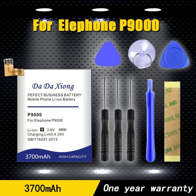 Neue 3700 mAh P9000 telefon Batterie verwenden für Elefon P9000 Elefon P9000 Lite bettery