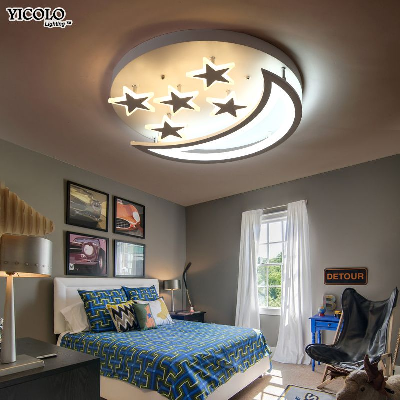 Surface Mounted ceiling light fixture with remote control For living room bed room ceiling lamps Home lamparas de techo abajur