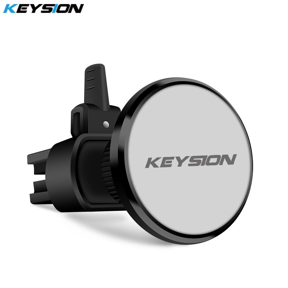 KEYSION Magnetic Car Phone Holder Air Vent Outlet Rotatable Mount Magnet Phone Mobile Holder Universal For iphone Samsung stand