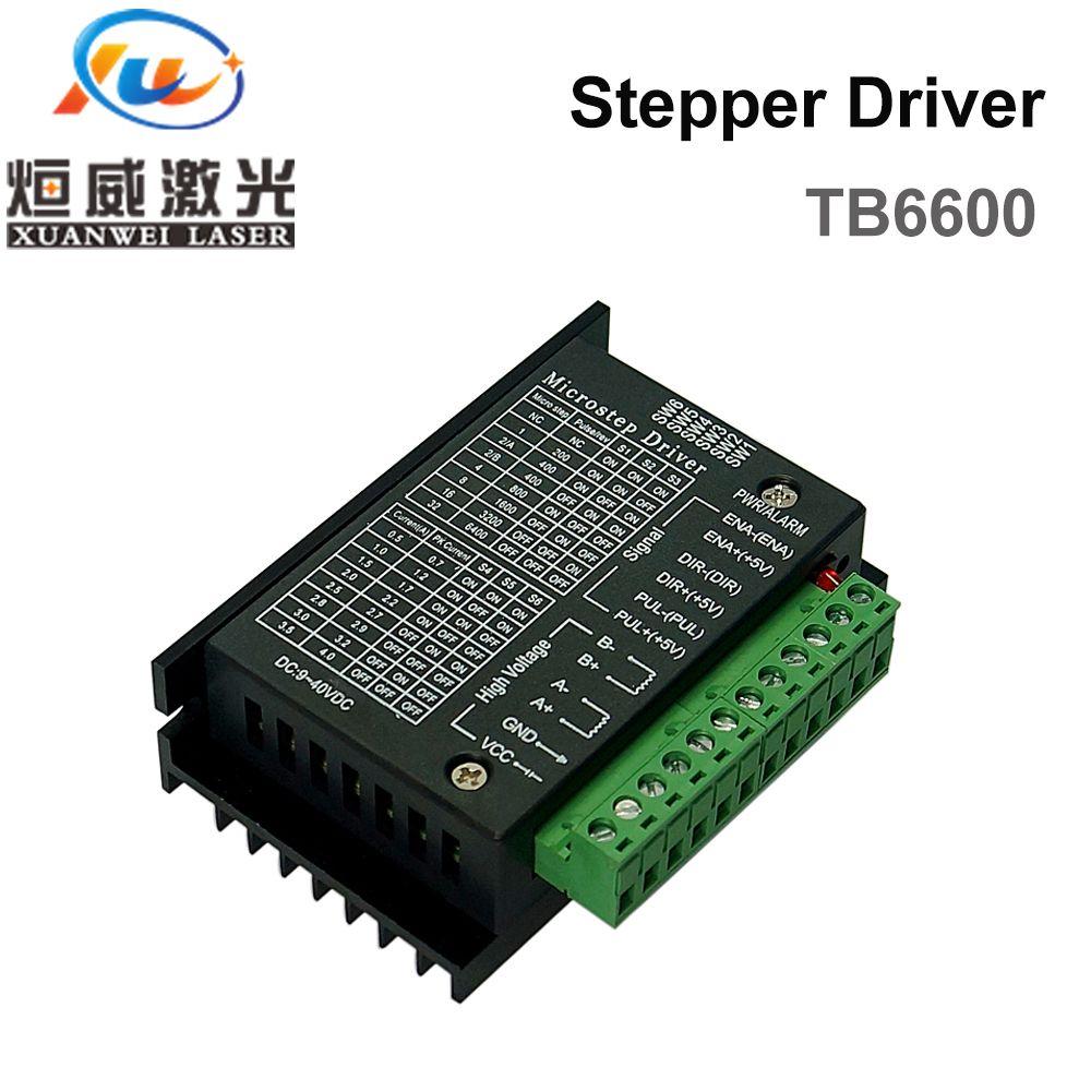 Stepper Motor Driver TB6600 Nema 23 Nema 34 42/57/86 Nema17 4A DC9-40V 1 axis Stepping Motor CNC Engraving Machine