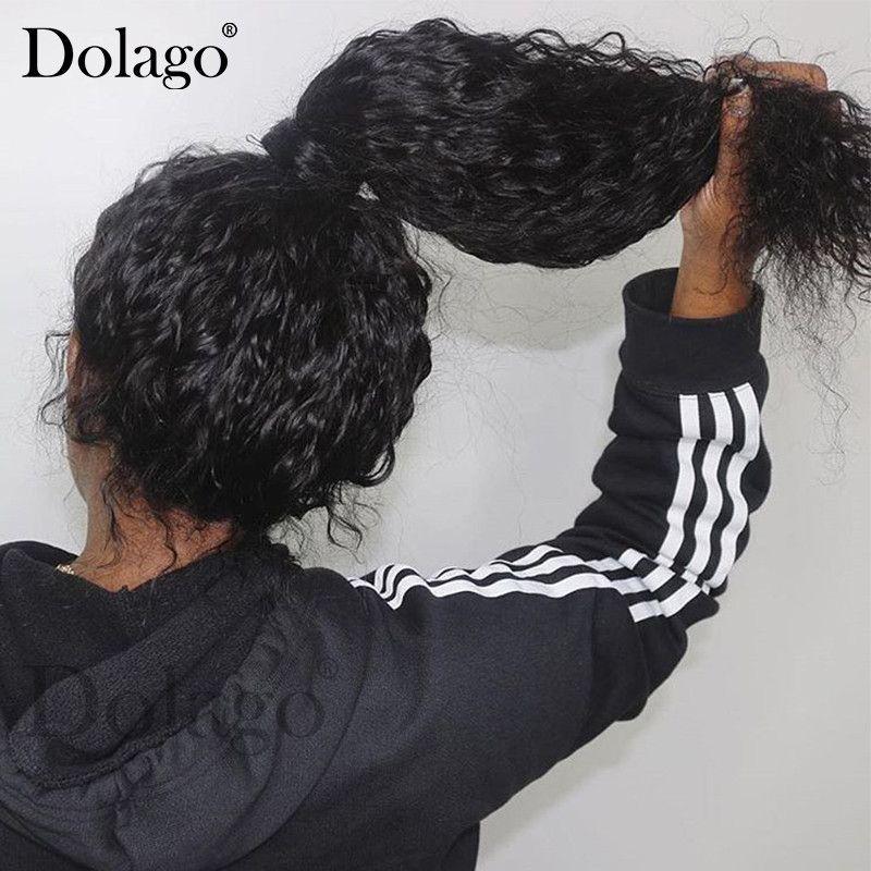 360 dentelle frontale perruque avec bébé cheveux 250 densité vague profonde bouclés Bob 13x6 dentelle avant cheveux humains perruques 370 faux cuir chevelu perruque Dolago