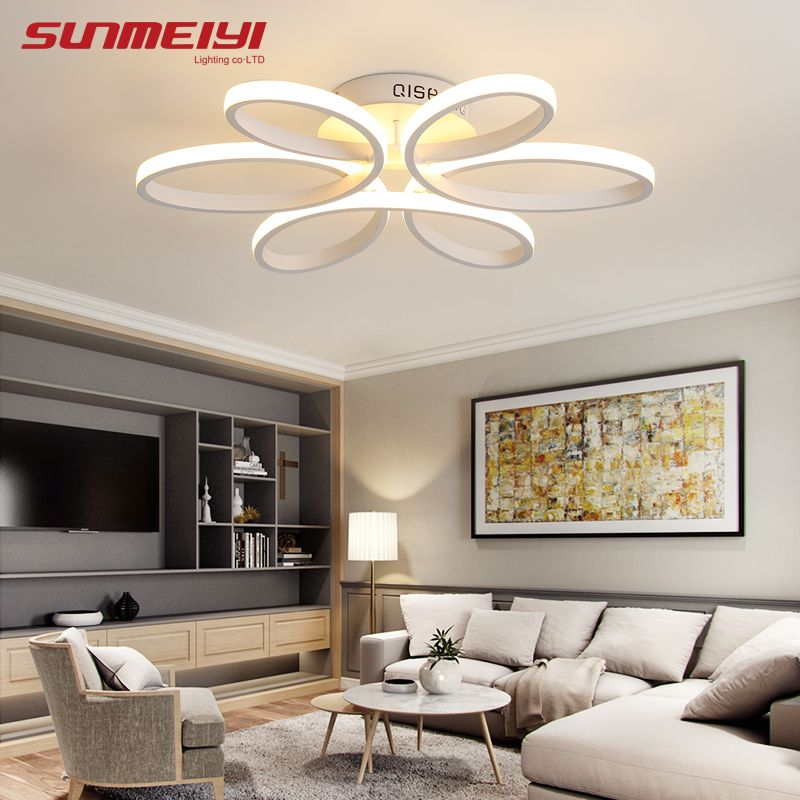 Surface Mounted Modern Led <font><b>Ceiling</b></font> Lights For Living Room luminaria led Bedroom Fixtures Indoor Home Dec <font><b>Ceiling</b></font> Lamp