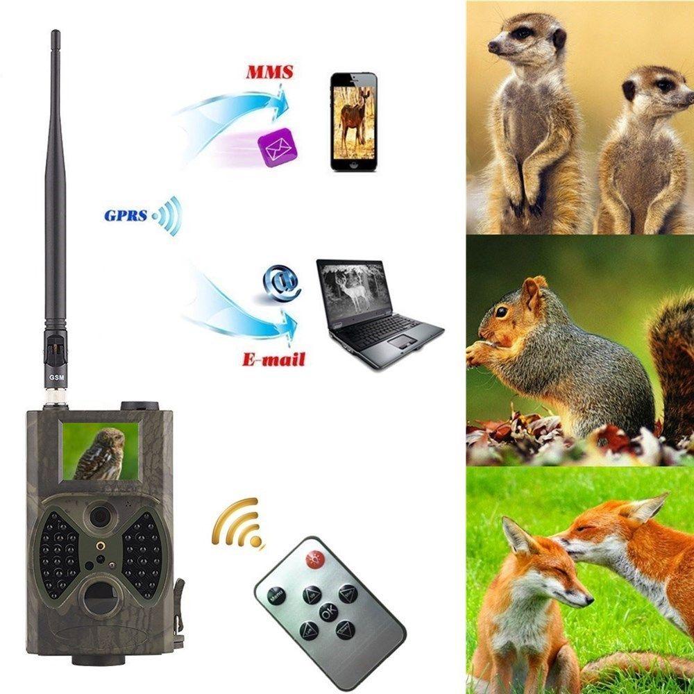 HC 300M Hunting Game Camera MMS Photo trap HD Scouting Infrared Outdoor Hunting Video Camera black IR night vision no flash