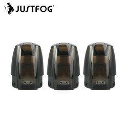 Asli 3 Pcs Justfog Minifit Pod dengan Kapasitas 1.5 Ml & 1.6ohm Organik Kapas Coil E-Cig Isi Ulang cartridge untuk untuk Minifit Kit