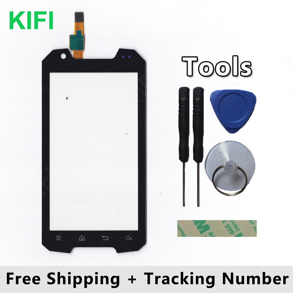 KIFI 100% QC PASS Touch Screen Digitizer Glass Panel For SNOPOW M8
