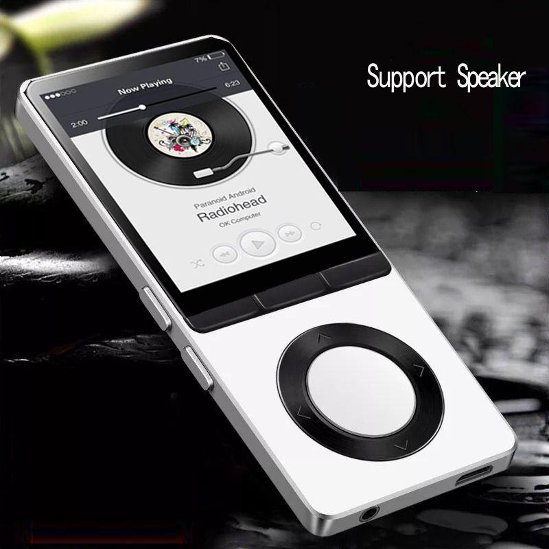 MP4 Player mit Lautsprecher Metall Körper 1,8 zoll Bildschirm 8 gb Unterstützung Aufnahme, FM Radio, ebook Verlustfreie HD Qualität Sound Video Player