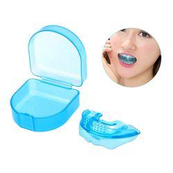 Стоматологический уход за зубами ортодонтический тренажер выравнивание зубов прямой прибор для зубов для взрослых мундштук Скоба зубной л...