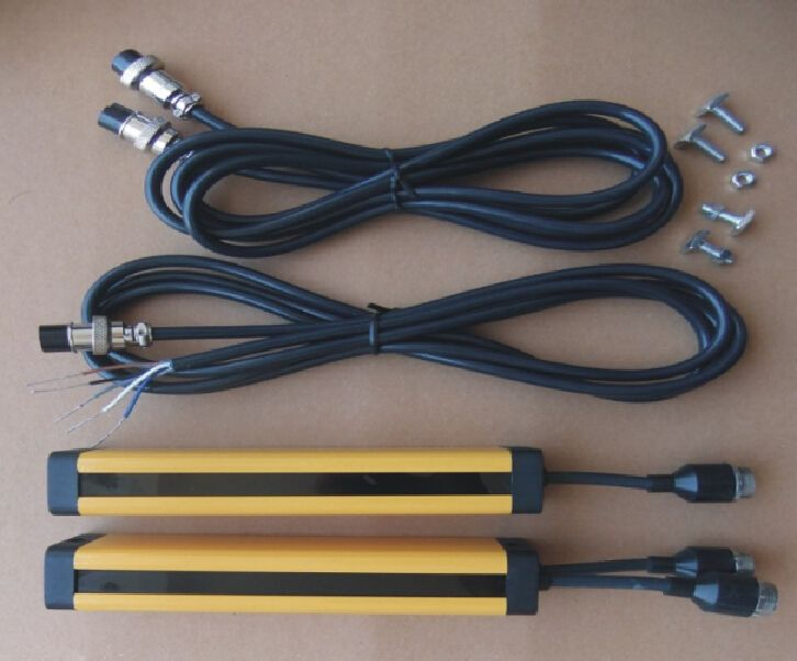 transistor PNP normally open 16 points 40MM light curtain safety grating hydraulic protection punch sensor photoelectric