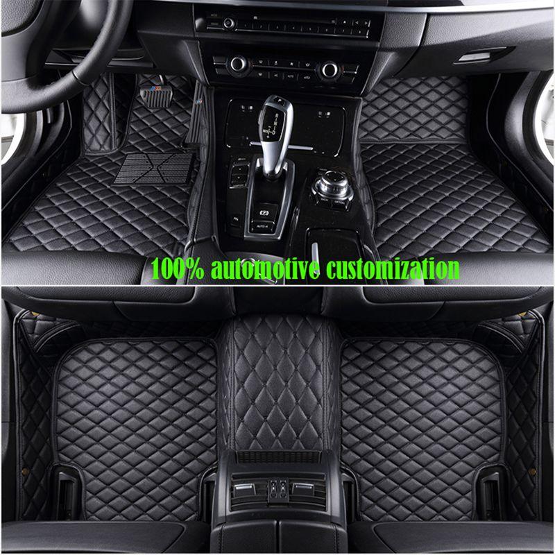 Nach maß Auto fußmatten für audi a3 sportback a5 sportback tt mk1 A1 A2 A3 A4 A5 A6 A7 a8 Q3 Q5 Q7 S4 S5 S8 RS auto matten