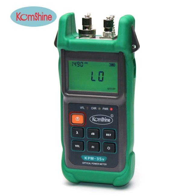 2-in-1 Optical Power Meter & Visual Light So KOMSHINE KPM-35V with FC ,SC,LC connectors