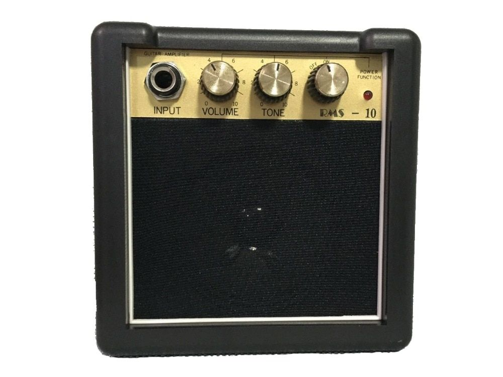 Free Ship. RMS-10 3W Portable High Quality Mini Guitar Amplifier/Speaker 9V Battery power supply portable mini guitar amplifier