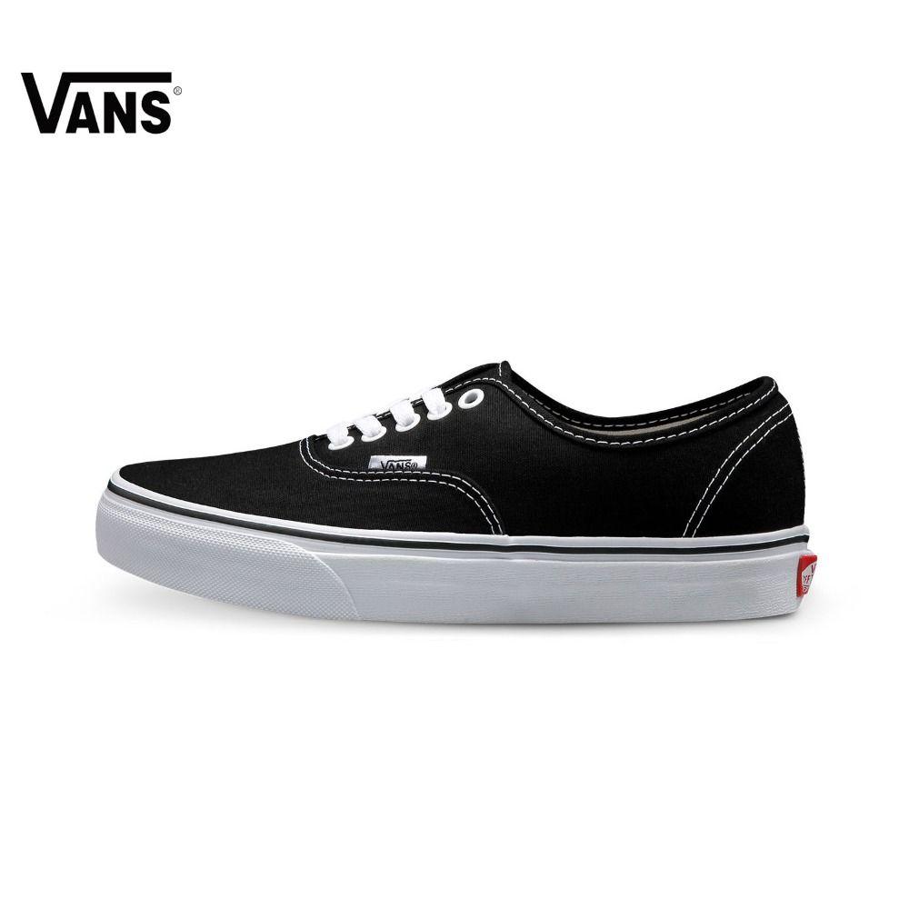 Original New Arrival Vans Lover's Skateboarding Shoes Low-Top Classic Authentic Sneakers Men's & Women's Canvas Sport Outdoor