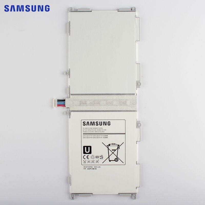 SAMSUNG Original Replacement Battery EB-BT530FBU For Samsung GALAXY Tab4 T530 T531 T535 Tab 4 Tablet Battery EB-BT530FBC 6800mAh
