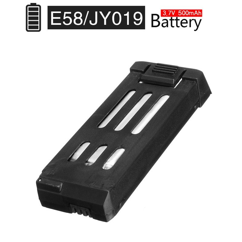 Global Drone Lipo Battery for E58 JY019 3.7V 500mAh Replacement Parts Accessories Blades for E58 JY019