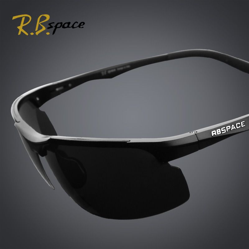 RBspace Male polarized coating sunglasses Driving mirror night and day dimming night vision glasses men polarized sunglasses man