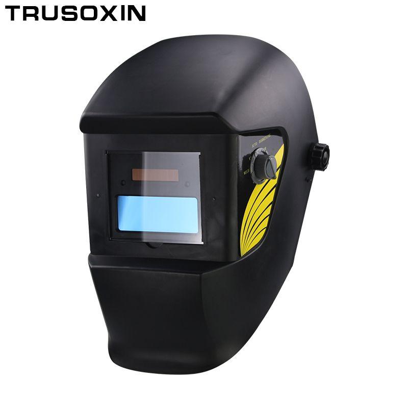 Pile AAA + solaire automatique/auto assombrissement TIG MIG MMA MAG masque de soudage/casques masque facial soudeur lunettes/masque de protection des yeux
