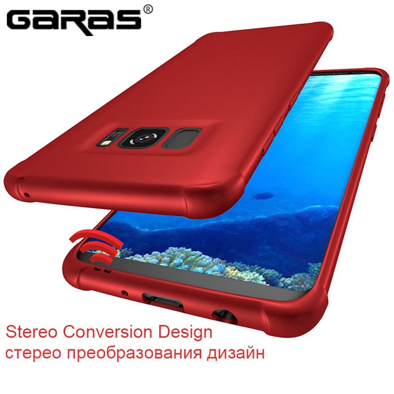 GARAS Cover For Samsung Galaxy S8 Case Silicon Luxury Shockproof For Galaxy S8 Plus Case Original Armor Soft Silicone Phone case