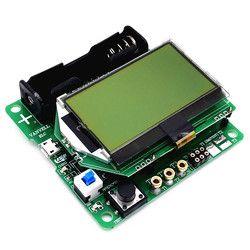 Baru Mega328 Digital Transistor Tester Dioda Triode Kapasitansi ESR Meter MOS/PNP/NPN LCR Tester Meter 12864 LCD layar