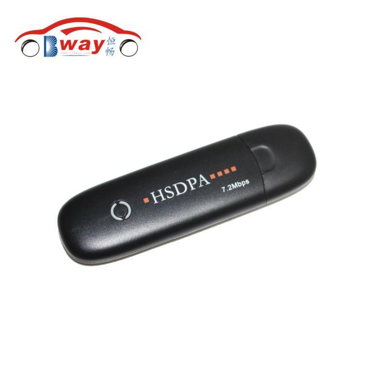 Free shipping 7.2Mbps External Unlock Universal Mobile Broadband Dongle Network Card WCDMA HSDPA GSM 3G USB Wireless Modem