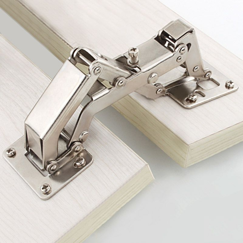 165/170/175/180 Degrees Furniture Cabinet Doors Hinge Special Angle Thick Door Panels No Need Slotting Large Angle Big Hinges