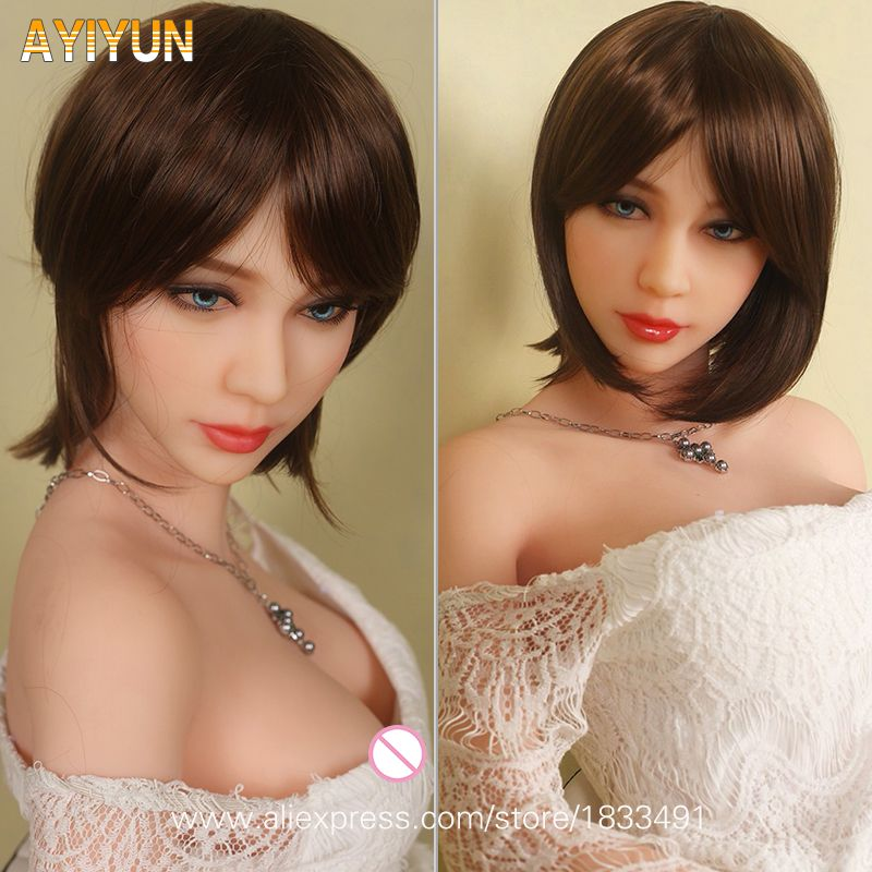 AYIYUN European Style Lifelike Real Sex Doll, Full Size Silicone with Skeleton Love Doll, Oral Vagina Pussy Anal Dolls NO Smell